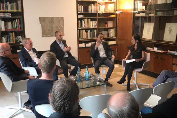 BDA Hannover im Gespräch mit OB-Kandidaten